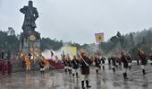 Tái hiện hình ảnh Nguyễn Huệ lên ngôi Hoàng đế và xuất binh đại phá quân Thanh