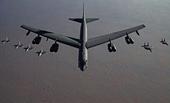 Mỹ lại phái máy bay ném bom chiến lược B-52 đến Vịnh Ba Tư