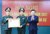 Ngành Kiểm sát quân sự triển khai công tác năm 2021