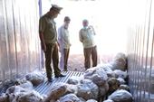 Phát hiện kho hàng chứa hơn 16 tấn thịt gia cầm hôi thối mua từ  zalo, facebook