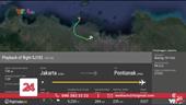 Máy bay chở khách của Indonesia đã rơi xuống biển