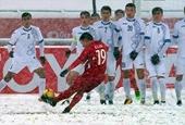 Siêu phẩm của Quang Hải vào nhóm bàn thắng đẹp nhất trên tuyết
