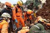 Lở đất kinh hoàng tại Tây Java, Indonesia, 40 người chết, mất tích