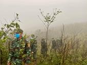 Xúc động hình ảnh chiến sỹ Biên phòng Quảng Trị tuần tra giữ biên dưới trời giá buốt