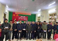 """VKSND huyện Yên Châu với chương trình """"Kết nối vòng tay, sưởi ấm vùng cao"""""""