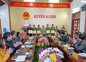 Kiểm sát viên VKSND huyện A Lưới được khen thưởng đột xuất trong chuyên án 121M