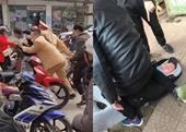 Cảnh sát giao thông vây bắt đối tượng bán vàng giả