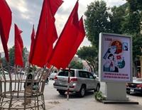 Hà Nội rực rỡ cờ hoa đón chào Đại hội đại biểu toàn quốc lần thứ XIII của Đảng
