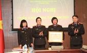 Thanh tra VKSND tối cao đón nhận Huân chương Lao động hạng Nhất