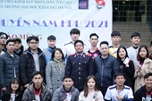 Trường Đại học Kiểm sát Hà Nội khai mạc giải bóng chuyền nam HPU năm 2021