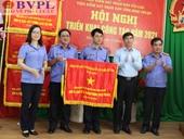 VKSND tỉnh Bình Thuận triển khai công tác năm 2021 và đón nhận Cờ thi đua Chính phủ