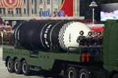 Lộ diện tên lửa đạn đạo khủng phóng từ tàu ngầm mới của Triều Tiên