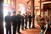 Dâng hương tưởng niệm đồng chí Trần Hữu Dực