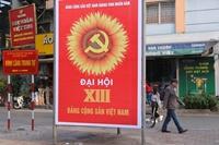 Hà Nội trang hoàng cờ hoa chào mừng Đại hội Đảng lần thứ XIII