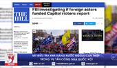 Mỹ điều tra khả năng nước ngoài can thiệp trong vụ tấn công Nhà Quốc hội