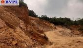 """Nghi án """"trộm núi để lấp ao cho  xã ở Thanh Hóa"""