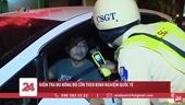 CSGT Thành phố Hồ Chí Minh kiểm tra nồng độ cồn kiểu mới