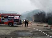 Cháy kho kiểm hóa chứa gần 10 tấn hàng chờ làm thủ tục hải quan