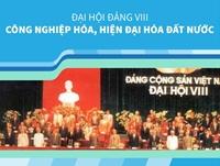 Đại hội Đảng VIII Công nghiệp hóa, hiện đại hóa đất nước