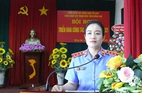 VKSND tỉnh Đồng Nai triển khai công tác năm 2021