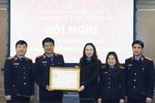Vụ 14, VKSND tối cao đón nhận Huân chương Lao động hạng Nhất