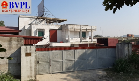 Sau phản ánh của Báo BVPL Sẽ cưỡng chế vụ biến nhà khách UBND huyện thành trụ sở công ty