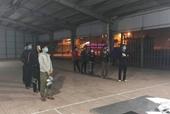 CSGT Hà Tĩnh đón lõng 9 người nhập cảnh trái phép