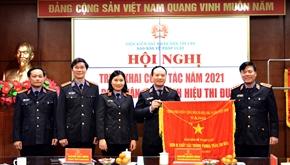 Báo Bảo vệ pháp luật triển khai công tác năm 2021 và đón nhận Cờ thi đua của Chính phủ