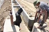 Ruộng đồng khát nước bên kênh thủy lợi hàng trăm tỉ đồng