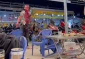 Hai nhóm khách hỗn chiến kinh hoàng tại quán nhậu ở TP HCM