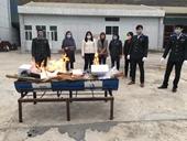VKSND tỉnh Điện Biên Kiểm sát việc tiêu hủy vật chứng, tài sản của 9 bản án