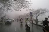 Miền Bắc rét buốt, mưa phùn kèm sương mù dày đặc