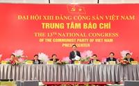 1 587 đại biểu tham dự Đại hội XIII của Đảng