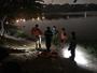 Phát hiện thi thể người đàn ông cột cùng tảng đá dưới hồ nước
