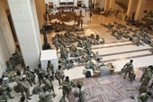 Hơn 100 lính Vệ binh Quốc gia của Mỹ nhiễm COVID-19