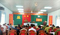Huyện Đắk Glong tổ chức hội nghị tổng kết công tác liên ngành