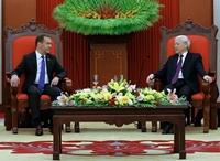 Chủ tịch Đảng Nước Nga Thống nhất ghi nhận vai trò của ĐCSVN đối với sự phát triển của đất nước