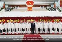 Ảnh một số đoàn đại biểu tham dự Đại hội XIII của Đảng