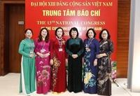 222 đại biểu nữ tham dự Đại hội lần thứ XIII của Đảng