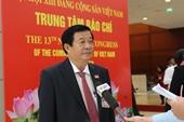 Đại biểu bày tỏ niềm tin và khát vọng hiện thực hóa Báo cáo chính trị tại Đại hội