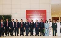 Hình ảnh các đoàn đại biểu tham dự Đại hội XIII của Đảng