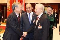 Lãnh đạo Đảng, Nhà nước dự phiên thảo luận các văn kiện Đại hội XIII