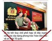 Cảnh báo giả mạo trang website Công an TP Hà Nội