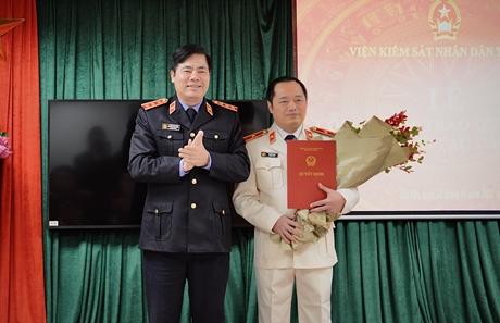 Bổ nhiệm Phó Thủ trưởng Cơ quan điều tra VKSND tối cao