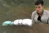 Vụ thi thể phụ nữ nhét trong bao tải nổi trên hồ nước Đã bắt được nghi phạm