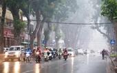 Không khí lạnh tăng cường, miền Bắc, miền Trung mưa rét