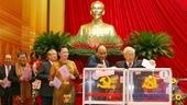 Đại hội tiến hành bầu Ban Chấp hành Trung ương Đảng khóa XIII