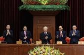 Danh sách Bộ Chính trị, Ban Bí thư và Chủ nhiệm Uỷ ban Kiểm tra Trung ương khoá XIII