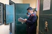 VKSND huyện Tuần Giáo kiểm sát Nhà tạm giữ Công an huyện