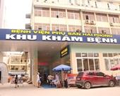 Bệnh viện Phụ sản Hải Phòng tạm dừng tiếp nhận bệnh nhân